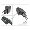 Haffner USB hálózati töltő - 5V/1A - PRÉMIUM