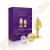 Rianne S Booty Plug Set luxus análdildó (plug) szett - arany - 2 darab