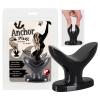 Anchor Plug - análtágító horog dildó (fekete)