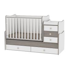 Lorelli Maxi Plus ágy - White&Coffee kiságy, babaágy
