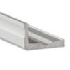 Aluminium L profil LED szalaghoz 16x10 mm (nyers)