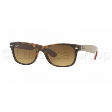 Ray-Ban RB2132 618185 NEW WAYFARER MATTE HAVANA BROWN GRADIENT DARK BROWN napszemüveg (RB2132__618185)
