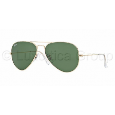 Ray-Ban RB3025 L0205 AVIATOR GOLD GREY GREEN napszemüveg (RB3025__L0205)