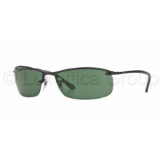 Ray-Ban RB3183 006/71 MATTE BLACK GREEN napszemüveg (RB3183__006_71)
