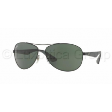Ray-Ban RB3526 006/71 MATTE BLACK GREY GREEN napszemüveg (RB3526__006_71)