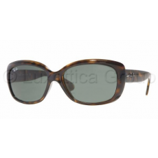 Ray-Ban RB4101 710 JACKIE OHH LIGHT HAVANA CRYSTAL GREEN napszemüveg (RB4101__710)
