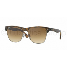 Ray-Ban RB4175 878/51 CLUBMASTER OVERSIZED DEMI SHINY HAVANA/GUNMET CRYSTAL BROWN GRADIENT napszemüveg (RB4175__878_51)