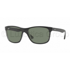 Ray-Ban RB4181 6130 TOP MATTE BLACK ON TRA GREEN napszemüveg (RB4181__6130)