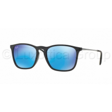 Ray-Ban RB4187 601/55 CHRIS BLACK LIGHT GREEN MIRROR BLUE napszemüveg (RB4187__601_55)