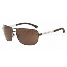 Emporio Armani EA2033 313273 BROWN RUBBER BROWN napszemüveg (EA2033__313273)