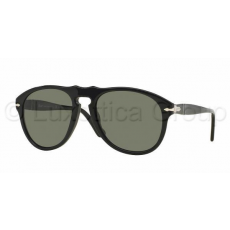 Persol PO0649 95/58 BLACK CRYSTAL GREEN POLARIZED napszemüveg (PO0649__95_58)