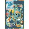 DJECO Polip művészi puzzle 500 db-os -Octopus