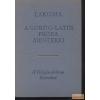 Európa Lakoma - A görög-latin próza mesterei
