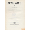 Akadémiai Nyugat 1908 II. kötet (16-24. szám) - Reprint