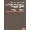 TANKÖNYVKIADÓ Magyarorszg története 1918-1975