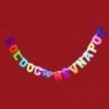 Boldog névnapot! felírat színes