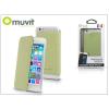 Muvit Apple iPhone 6/6S flipes tok - Muvit Crystal Folio - lime