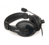 Natec Grizzly fekete - kék headset (NSL-0305) headset