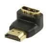 Valueline HDMI aranyozott könyök 90°