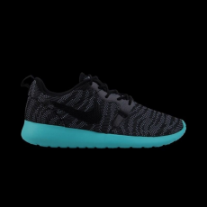 Nike Womens Rosherun One Knit Jacquard Black Light Retro