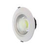 LEDvonal LED panel / mélysugárzó / 30 W / süllyesztett / kerek / hideg fehér