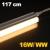 LEDvonal LED fénycső / T5 / 16 W / 117 cm / sorolható / meleg fehér