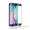 utángyártott Samsung G925 Galaxy S6 Edge tempered glass üvegfólia (teljes kijelzős-hajlított), fekete
