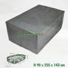 KERTI BÚTOR TAKARÓ PONYVA - asztal szett takaró 90 cm x 225 cm x 143 cm - 6030602 -