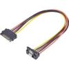 Renkforce SATA áram hosszabbító kábel 0,3 m