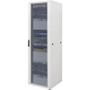 19-os rackszekrény, hálózati szerverszekrény 600 x 1120 x 600 mm, szürke 22 HE Intellnet (RAL 7035) 713610