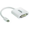 Kijelző csatlakozó / DVI Átalakító [1x Mini DisplayPort dugó - 1x DVI alj, 24+5 pólusú] Fehér ATEN