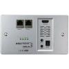 HDMI Extender vevő egység, POE jelátalakító, falba építhető IP védett Inakustik Exzellenz 9120404