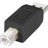 USB 2.0 adapter A dugó/B dugó, Renkforce