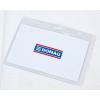 Azonosítókártya tartó, 105x65 mm, hajlékony, vízszintes, DONAU 50 lapos