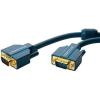 VGA Csatlakozókábel [1x VGA dugó - 1x VGA dugó] 2 m Kék 2560 x 1600 pixel clicktronic