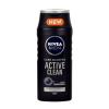 Nivea Men Active Clean Shampoo Férfi dekoratív kozmetikum minden hajtípusra Sampon normál hajra 250ml