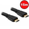 Kolink Noname Jelkábel HDMI-HDMI 1.4 3D 15m aranyozott Am/Am