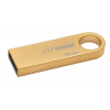 Pendrive, 8GB, USB 2.0, 10/5MB/sec, fém ház, KINGSTON DT GE9 , arany (DTGE9/8GB)