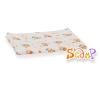 Scamp mintás narancs macis textilpelenka 3db mosható pelenka