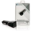 HQ König szivargyujtó USB töltő két kimenettel 2x 2,1 A