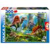 Educa dinoszauruszok puzzle - 300 db