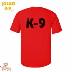 Julius-K9 K9 póló, piros - méret: L
