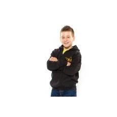 Julius-K9 K9 cipzáras gyermek pulóver, fekete - méret: L