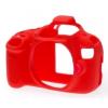 Easy Cover Szilikon Tok EOS 1200D, piros