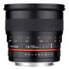 Samyang 50mm f / 1,4 AS UMC Canon objektív, fekete