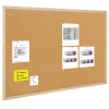 BI-OFFICE Cork Notice Board BI-OFFICE  60x45cm  wood frame 5603750112013