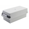 HAN Card Index Box HAN Kartei  covered (with a lid)  polystyrene  A4  grey 4012473954113
