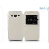 Haffner Samsung SM-G355 Galaxy Core 2 S-View Flexi oldalra nyíló flipes tok - fehér