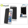 Muvit Apple iPhone 6 Plus/6S Plus hátlap - Muvit Crystal Folio - black