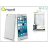 Muvit Apple iPhone 6 Plus/6S Plus hátlap - Muvit miniGel - white